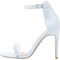 Sandały damskie: Miss Selfridge CIAO Sandały na obcasie blue