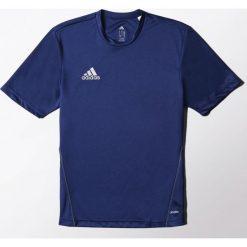 Adidas Koszulka piłkarska męska Core Training Jersey granatowa r. M (S22390). Niebieskie koszulki do piłki nożnej męskie marki Adidas, m, z jersey. Za 61,57 zł.