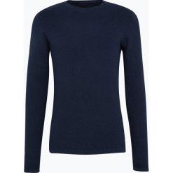 Only&Sons - Sweter męski – Dan, niebieski. Niebieskie swetry klasyczne męskie Only&Sons, m, z bawełny. Za 119,95 zł.