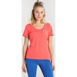 ODLO CREW NECK KUMANO FDRY Tshirt z nadrukiem dubarry. Brązowe t-shirty damskie Odlo, xl, z nadrukiem, z poliesteru. Za 169,00 zł.