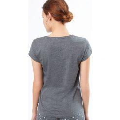 Etam - Top piżamowy Diana. Niebieskie piżamy damskie marki Etam, l, z bawełny. W wyprzedaży za 39,90 zł.