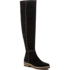 Muszkieterki EVA MINGE - Yesenia 2G 17SM1372215EF 801. Czarne buty zimowe damskie Eva Minge, ze skóry, na obcasie. W wyprzedaży za 319,00 zł.