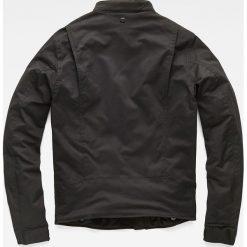 G-Star Raw - Kurtka. Czarne kurtki męskie przejściowe marki G-Star RAW, l, z materiału, retro. W wyprzedaży za 499,90 zł.