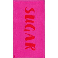 """Kąpielówki męskie: Ręcznik plażowy """"Sugar"""" w kolorze różowym"""