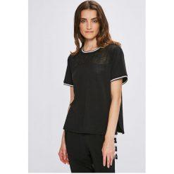 Dkny - Top piżamowy. Szare piżamy damskie marki DKNY, l, z bawełny, z krótkim rękawem. W wyprzedaży za 159,90 zł.