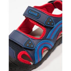 Kamik SEATURTLE  Sandały trekkingowe blue/red. Niebieskie sandały chłopięce marki Kamik, z materiału. Za 189,00 zł.
