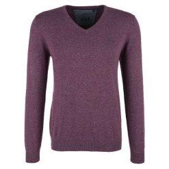 S.Oliver Męski Sweter, Xxl, Burgund. Szare swetry klasyczne męskie marki S.Oliver, l, z bawełny, z klasycznym kołnierzykiem, z długim rękawem. Za 119,00 zł.