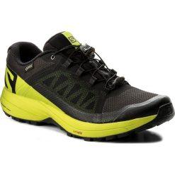 Buty SALOMON - Xa Elevate Gtx GORE-TEX 401418 31 V0 Black/Lime Green/Black. Czarne buty do biegania męskie marki Salomon, z gore-texu, gore-tex. W wyprzedaży za 429,00 zł.