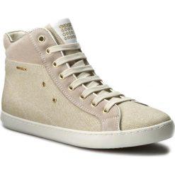 Sneakersy GEOX - J Kiwi G. A J72D5A 01122 C500 D Beż. Brązowe buty sportowe chłopięce marki Michael Kors, z materiału. W wyprzedaży za 199,00 zł.