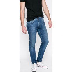 Lee - Jeansy Luke. Szare jeansy męskie slim Lee, z bawełny. Za 329,90 zł.