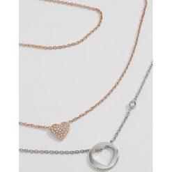 Biżuteria i zegarki damskie: Fossil VINTAGE MOTIFS 2 PACK Naszyjnik silvercoloured/rose goldcoloured