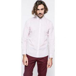 Medicine - Koszula Grand Hotel Budapest. Szare koszule męskie na spinki marki S.Oliver, l, z bawełny, z włoskim kołnierzykiem, z długim rękawem. W wyprzedaży za 59,90 zł.