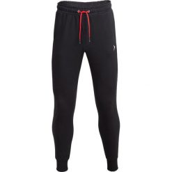 Spodnie męskie: Spodnie dresowe męskie SPMD601 - głęboka czerń - Outhorn