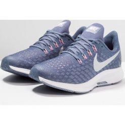 Nike Performance AIR ZOOM PEGASUS 35 Obuwie do biegania treningowe diffused blue/metallic silver. Czarne buty sportowe dziewczęce marki Nike Performance, z materiału, na golfa. Za 359,00 zł.