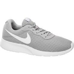 Buty męskie Nike Tanjun NIKE popielate. Czarne buty sportowe męskie marki Nike, z materiału, nike tanjun. Za 279,90 zł.