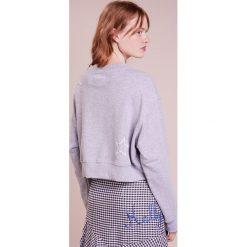 Bluzy rozpinane damskie: The Editor CROPPED  Bluza grey