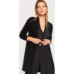 Sweter z domieszką wełny i moheru - Czarny. Czarne swetry klasyczne damskie Reserved, l, z wełny. Za 179,99 zł.