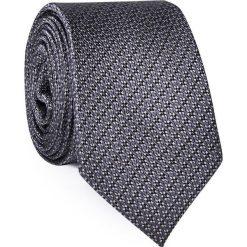 Jedwabny krawat KWSR000290. Szare krawaty męskie Giacomo Conti, z jedwabiu. Za 129,00 zł.