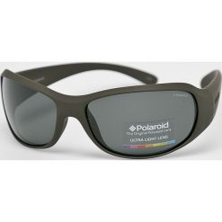 Polaroid - Okulary P7228. Brązowe okulary przeciwsłoneczne męskie aviatory Polaroid, z materiału, prostokątne. Za 339,90 zł.