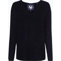 Superdry - Sweter damski, niebieski. Szare swetry klasyczne damskie marki Superdry, l, z nadrukiem, z bawełny, z okrągłym kołnierzem. Za 299,95 zł.