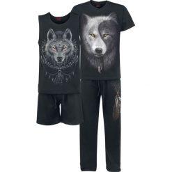 Spodenki i szorty męskie: Spiral Wolf Chi Pidżama czarny