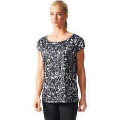 Adidas Koszulka treningowa damska AOP TEE czarny r. M (AB5698). Czarne bluzki damskie Adidas, m. Za 104,00 zł.
