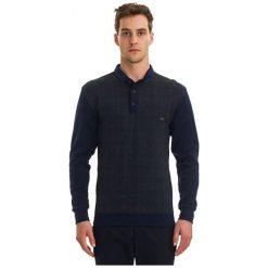 Galvanni Koszulka Polo Męska Fictile L, Ciemnoniebieski. Czarne koszulki polo GALVANNI, l, w kratkę, z materiału. W wyprzedaży za 189,00 zł.