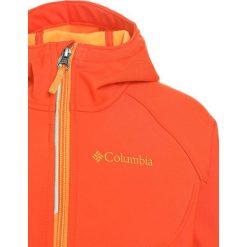 Columbia CASCADE RIDGE Kurtka Softshell state orange/solar. Brązowe kurtki chłopięce przeciwdeszczowe Columbia, z materiału. Za 199,00 zł.
