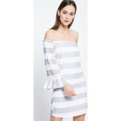 Missguided - Sukienka. Szare sukienki mini marki Missguided, na co dzień, z bawełny, casualowe. W wyprzedaży za 69,90 zł.