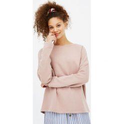 Bluza basic z okrągłym dekoltem. Szare bluzy męskie rozpinane marki Pull & Bear, okrągłe. Za 49,90 zł.