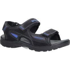 Czarne sandały na rzepy Casu 7SD9123. Czarne sandały męskie marki Casu, na rzepy. Za 59,99 zł.