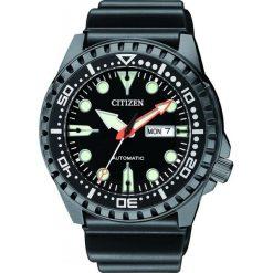 ZEGAREK CITIZEN Mechanical NH8385-11EE. Czarne zegarki męskie CITIZEN, ze stali. Za 890,00 zł.