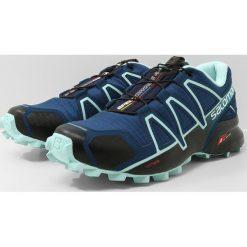 Salomon SPEEDCROSS 4 Obuwie do biegania Szlak poseidon/eggshell blue/black. Niebieskie buty do biegania damskie Salomon, z materiału, salomon speedcross. Za 549,00 zł.