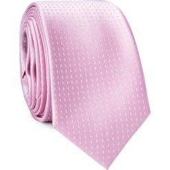 Krawat KWRR001557. Czerwone krawaty męskie Giacomo Conti, z mikrofibry. Za 69,00 zł.