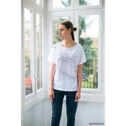 Bluzki, topy, tuniki: WHITE MARBLE Oversize t-shirt