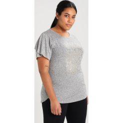 Topy sportowe damskie: Raiski SHIBYA Tshirt z nadrukiem light grey
