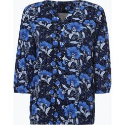 Soyaconcept® - Koszulka damska – Felicity, niebieski. Niebieskie t-shirty damskie Soyaconcept, l, w kwiaty, z dekoltem w serek. Za 129,95 zł.