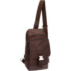 Plecak w kolorze brązowym - (S)18 x (W)35 x (G)9 cm. Brązowe plecaki męskie Pepe Jeans, w paski, z materiału. W wyprzedaży za 119,95 zł.