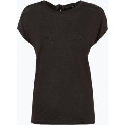 Opus - Damski T-shirt z lnu – Sukama, zielony. Zielone t-shirty damskie Opus, z tkaniny. Za 149,95 zł.