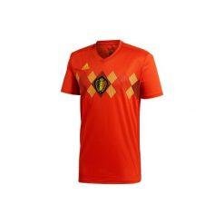 Koszulka do piłki nożnej Belgia 2018. Czerwone t-shirty męskie Adidas, z krótkim rękawem. Za 379,99 zł.