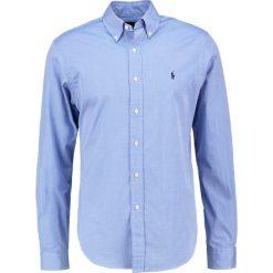 Polo Ralph Lauren CUSTOM FIT Koszula blue. Szare koszule męskie marki Polo Ralph Lauren, l, z bawełny, button down, z długim rękawem. Za 439,00 zł.
