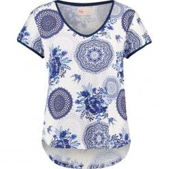 """Koszulka """"Pallavi"""" w kolorze niebiesko-białym. Białe t-shirty damskie Hip, xs. W wyprzedaży za 136,95 zł."""