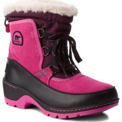 Kozaki dziewczęce: Śniegowce SOREL – Youth Torino III Camo NY1894 Pink Ice/Black 695