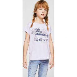 Bluzki dziewczęce: Mango Kids – Top dziecięcy Candy 104-164 cm