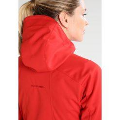 Mammut ULTIMATE  Kurtka Softshell spicy/black. Czerwone kurtki sportowe damskie Mammut, l, z materiału. W wyprzedaży za 707,85 zł.