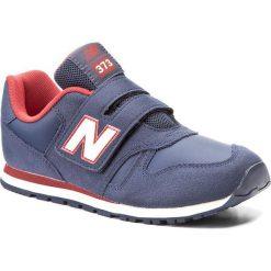 Trampki chłopięce: Sneakersy NEW BALANCE – KV373NDY Granatowy
