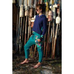 Spodnie damskie Papugi - baggy pants - joggery. Czarne spodnie dresowe damskie Pakamera, z dresówki. Za 195,00 zł.