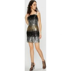 Tally Weijl - Sukienka. Szare sukienki mini marki TALLY WEIJL, na co dzień, l, z poliesteru, casualowe, na ramiączkach, dopasowane. Za 169,90 zł.