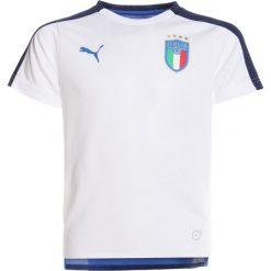 Puma FIGC ITALIEN STADIUM Koszulka reprezentacji white. Białe t-shirty chłopięce Puma, z materiału. Za 169,00 zł.