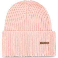 Czapka TRUSSARDI JEANS - Hat Rib-Knitted 59Z00079 P050. Szare czapki zimowe damskie marki Calvin Klein Jeans, na zimę, z jeansu. Za 189,00 zł.